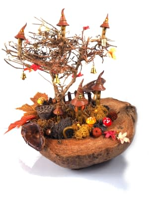 fairy tree autumn